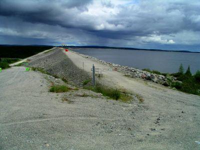 Caniapiscau Reservoir Dam