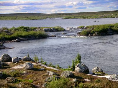 Start of Caribou Rapids