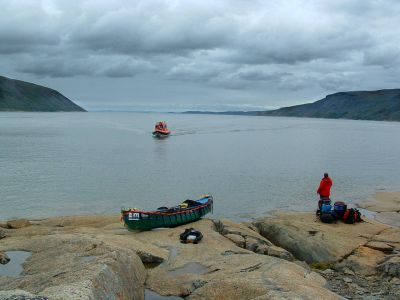 Boat from Tasiujaq