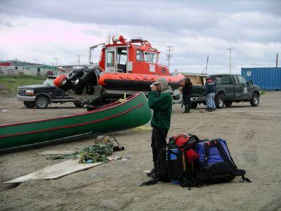 Tasiujaq high tide harbour