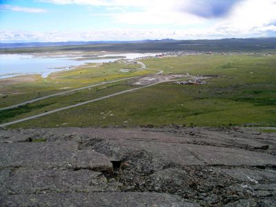 View of Tasiujaq from Qamanialuk Hill