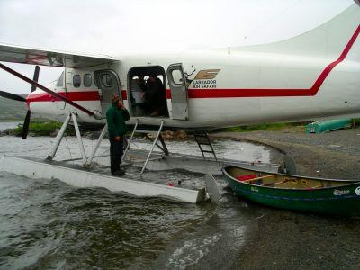Airplane on Finger Lake