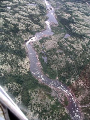 Rapids on Aigneau River